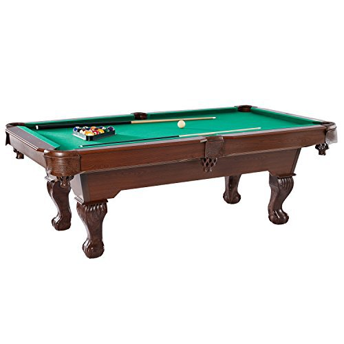 Barrington Claw Leg Billiard Table Set With Cues Rack Balls And Chalk (22  Pieces)