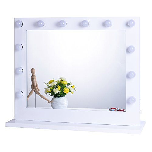 white vanity mirror with lights. Chende White Hollywood Lighted Makeup Vanity Mirror Light  Dressing Table Set Mirrors with Dimmer Tabletop or Wall Mounted Top 10 Cheap Lights 2017 Best